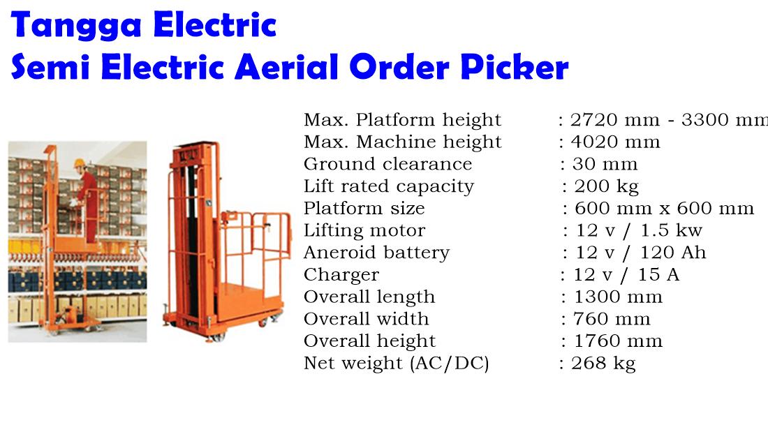 tangga electric